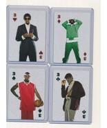 Lebron James The Lebrons Nike Playing Card Promo Rare Lot of 4 - $10.00
