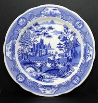 "Vintage The SPODE Blue Room Collection ""Gothic Castle"" Blue 10"" Porcelai... - $48.95"