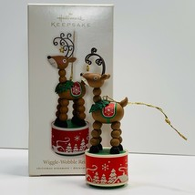 Hallmark Keepsake Ornament Wiggle Waggle Reindeer 2010 - $10.40