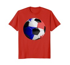 Panama Flag Football Sport Fan T Shirt Men - $19.95+