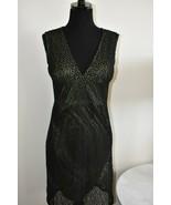 Bisou Bisou Michele Bohbot Mesh Overlay Little Black Dress Sleeveless Si... - $14.40
