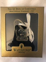 Waterford Crystal 12 Days Of Christmas 3D Ornament 3 French Hens 1997 - $42.56