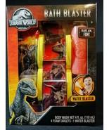 Jurassic World Bath Set w/water blaster and targets plus Body Wash Kids  - $6.92