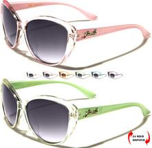 Nuevo Giselle Ojos De Gato Moda Mujer Claro Color Playa Gafas De Sol UV400 - $12.75