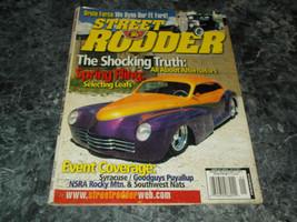 Street Rodder Magazine Vol 31 No 1 January 2002 FE Ford Pt 9 - $2.99