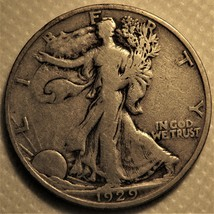 1929-s Liberty Walking Half Dollar. - $40.00