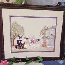 Amish Star Country Cross Stitch Leaflet Book Color Charts 1992 Steve Polomchak  - $19.99