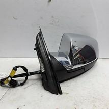 11 12 13 14 Chevy Equinox Terrain left driver side Chrome door mirror OE... - $43.55