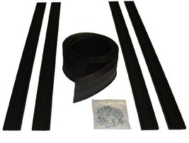 Auto Care Products 54018 18-Feet Garage Door Bottom Seal Kit with Track ... - €60,88 EUR