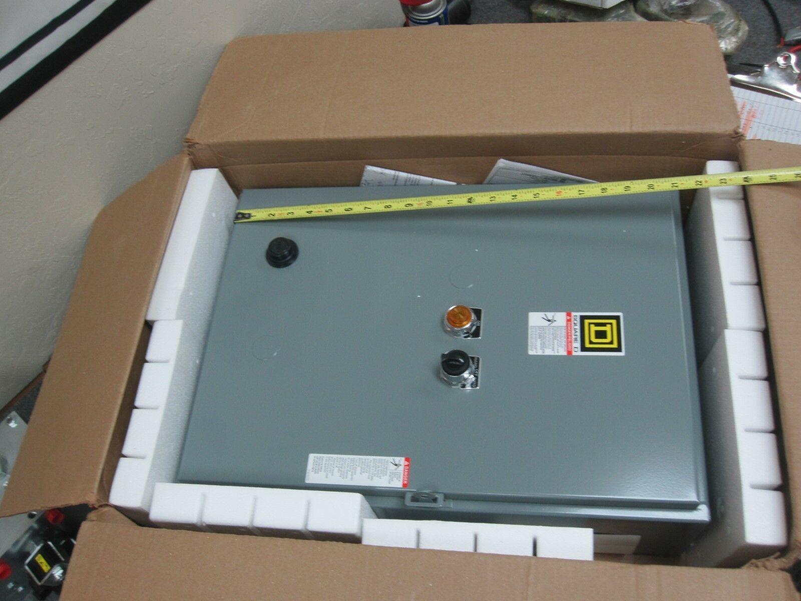 Square D AC Magnetic Starter 8536SBG1V02CE3210F4G105G5610P68X11Y217 New