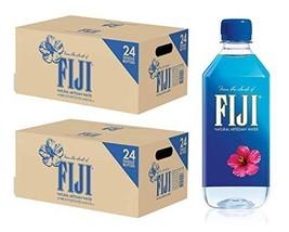 FIJI Natural Artesian Water, 16.9 Fl Oz 48 Pack