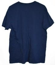 Polo Ralph Lauren Men's Navy Blue Classic Fit Crew Neck Cotton T-Shirt Size L image 2