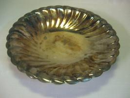 Wm Rogers Eagle Star  Silver Plate Bowl Waverly Pattern #3835 1938-1976 - $12.95