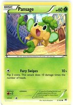 Pokemon - Pansage (5/162) - XY BREAKthrough - $0.83