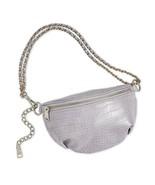 Steve Madden Ida Icy Croco Embossed Belt Bag, Lilac $68 - $28.67