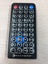 Element Electronics E1023PD Portable DVD Player Remote Control              (R3)