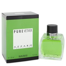 Azzaro Pure Vetiver Cologne 4.2 Oz Eau De Toilette Spray image 3