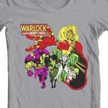 Adam Warlock Infinity Watch T-shirt retro cotton graphic tee Marvel Bronze Age image 1
