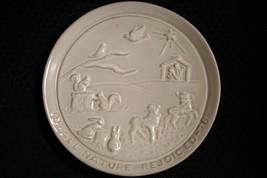 Vtg 1978 Frankoma Pottery~All Nature Rejoiced~Christmas Plate~By Joniece... - $11.97