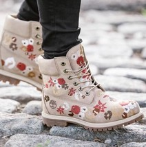 WOMEN'S 6-INCH PREMIUM EMBROIDERED WATERPROOF BOOTS STYLE A1KIR104 SZ:7 - $157.41