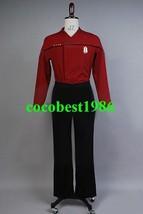 Star Trek Voyager Episode Endgame Harry Kim Costume Uniform any size Top... - $52.40