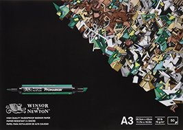 Winsor & Newton A3 Bleedproof Paper (Pack of 50 Sheets) - $25.73