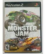 Monster Jam PS2 Game 2007 Activision Playstation 2 - $8.59