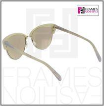 OLIVER PEOPLES ALISHA OV5244S White Pearl Flash Mirrored Sunglasses 5244 Women image 5