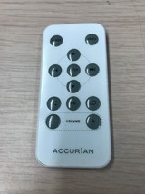 Accurian Remote Control Tested And Cleaned     (O2)