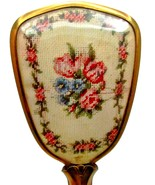 "Vintage 10"" Floral/Flowers Hair Brush - $15.95"
