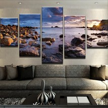 ABYSMAL RAYS PRINT PICTURE  5 Piece Canvas Art Wall Art Picture Home Decor - $22.80+