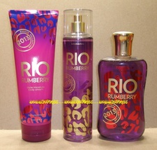 Rio Rumberry 2013 Escape Bath Body Works Fragrance Mist Body Cream Showe... - $70.00