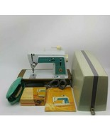 Vintage Singer Touch & Sew Sewing Machine Deluxe Zig Zag Model 628 BUNDL... - $326.69