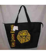 "Great 15"" X 14"" Disney LION KING Black Tote Bag With Tags - $33.68"
