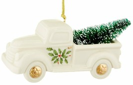 HTF New in Box Lenox Holiday Truck with Tree Ornament - $39.48
