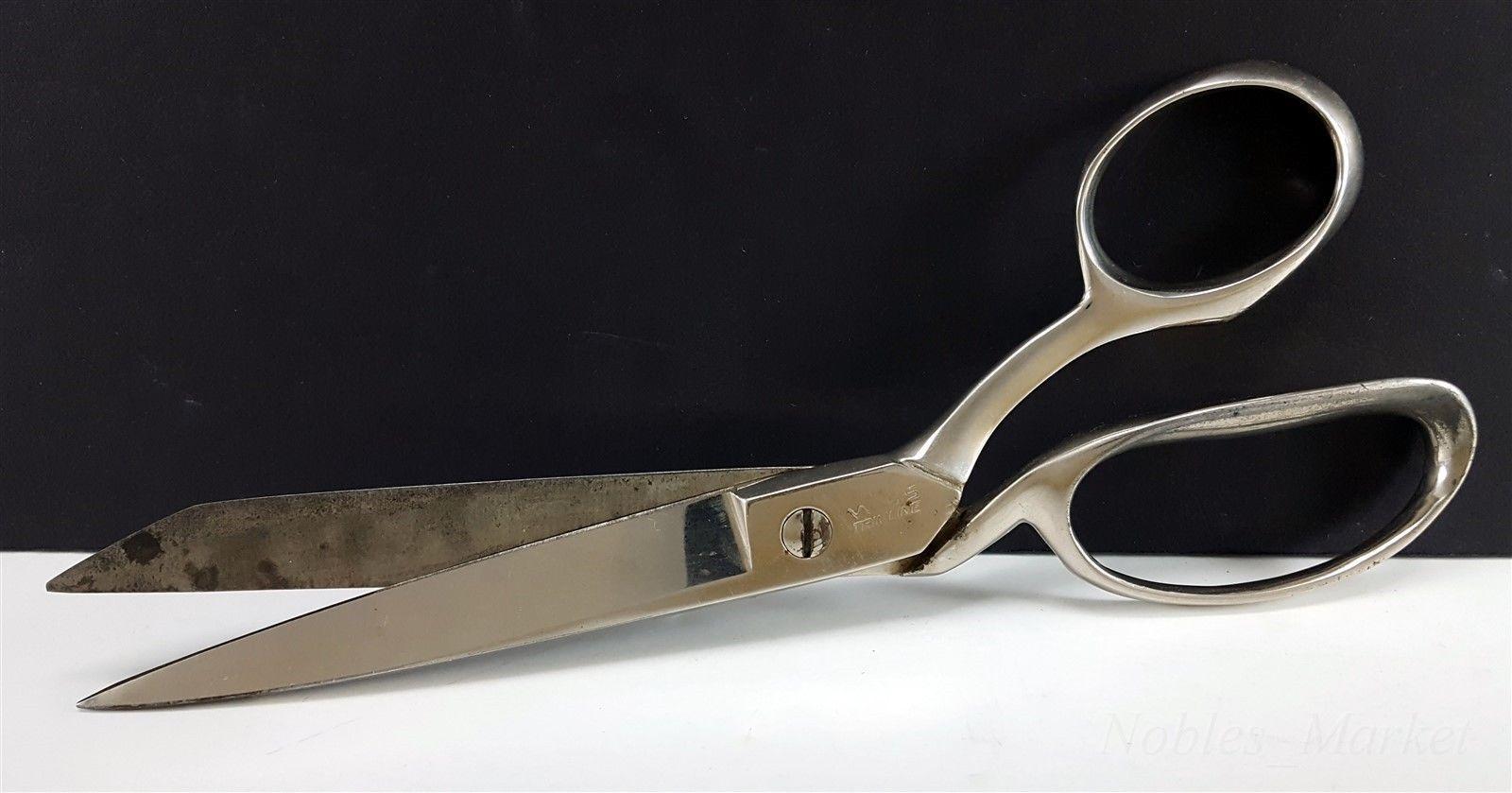 "WISS 6"" Trimline 4128 Straight Edge Scissors Trimmers Dressmaker Shears Vintage"