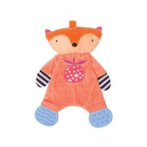 Manhattan Toy Teether Fox Soft Snuggle Blankie Toy - $15.99