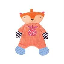 Manhattan Toy Teether Fox Soft Snuggle Blankie Toy - $15.99