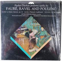 DIETRICH FISCHER-DIESKAU Performs Faure Ravel Poulenc LP Shrink Musicmas... - $18.69