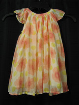 BABY GAP GIRL DRESS SPRING EASTER FLORAL PLEATED FLUTTER SLEEVE FLORAL 1... - $23.50