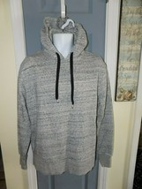 H & M Divided Gray Pullover Hoodie Hooded Sweatshirt Size M Men's EUC - $26.10