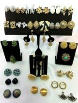 Vintage Mixed Costume Jewelry Lot 30 Items Trifari,Cathe',Bluette,Coro,Marvella - $58.41
