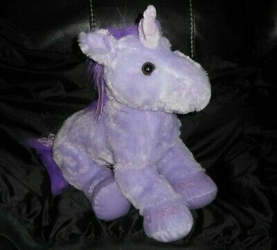 "Primary image for 18"" BIG GEOFFREY 2012 TOYS R US PURPLE HORSE UNICORN STUFFED ANIMAL PLUSH TOY"