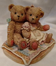 "Cherished Teddies - Nathaniel and Nellie ""It's Twice As Nice with You,"" ... - $18.00"