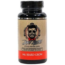 Don Juan Mr. Beard Grow 5000 mcg Biotin Veggie V-Capsules, 90 Count