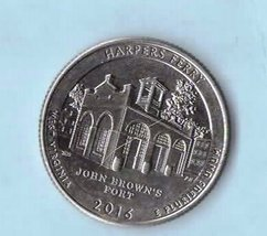 2016 D Harper's Ferry National Parks Washington Quarter - Circulated Lig... - $1.25