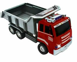 Think Toys Kids Melody Dump Truck Car Push and Go Friction Powered Vehicle Toy image 3