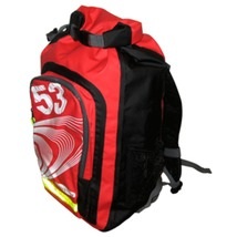 Ronstan 26L Roll-Top Dry BackPack - Black/Red - $82.83