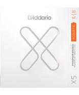 D'Addario Acoustic Guitar Strings Phos Bronze  11-52 XS Lasting Coating - $19.00