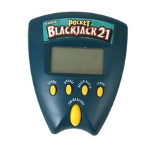Radica Pocket Blackjack 21 Handheld Electronic Video Game Casino Gamble  - $7.38